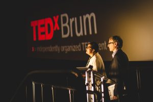 Helga and Andy TEDxBrum 2013