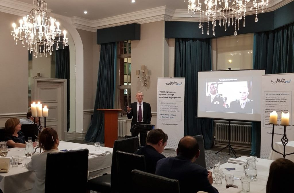 Be The Business & Aston Centre for Growth Graduation Masterclass at Hotel du Vin